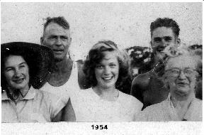 The Fahey Family - 1954