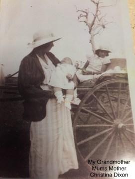Christina Dixon - Sonny's grandmother.