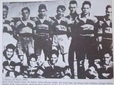 La Perouse All Blacks - c.1940s.