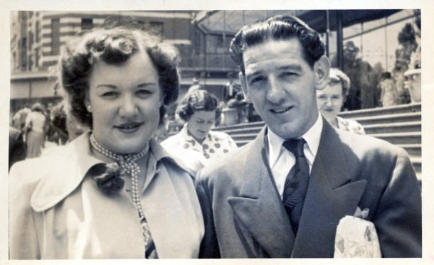 Beryl and Colin - Sydney, 1953