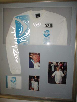 Barbara's Olympic Torch Shirt