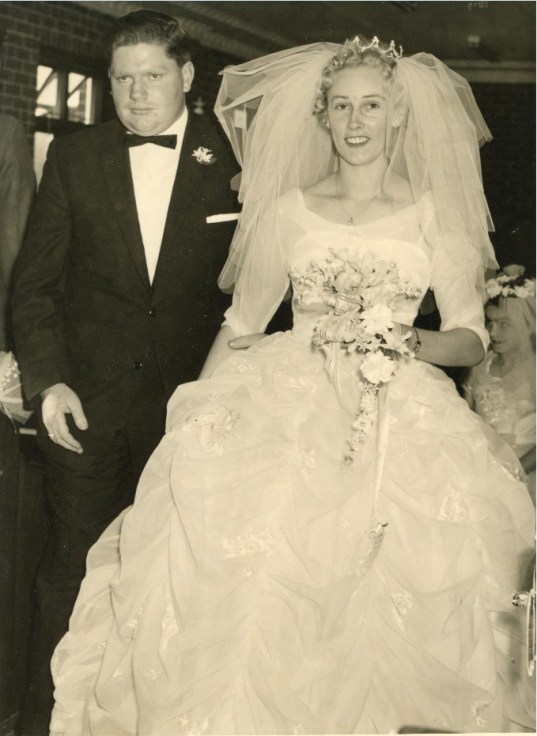John and Barbara Street's Wedding - St. Mark's Anglican Church, West Wollongong - 29 September 1962