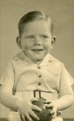 John Street at about two and a half years of age - 1943