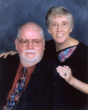John and Barbara Street on a cruise to Alaska - 2000