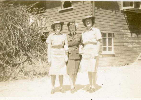 Jean, Verma, and Carol North - Whytecliffe, Brisbane