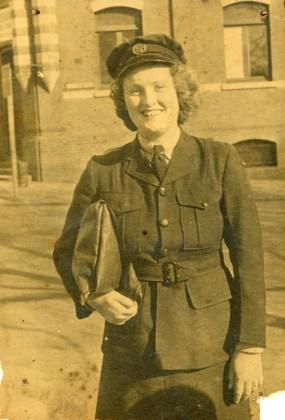 Carol in uniform