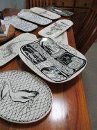 Examples of Vic's ceramics