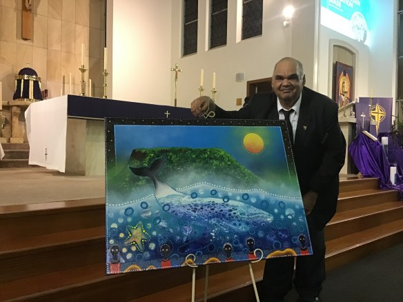 Kevin Butler and his artwork