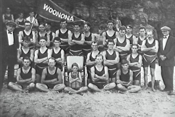 P03318 - Woonona Surf Club - 1920s