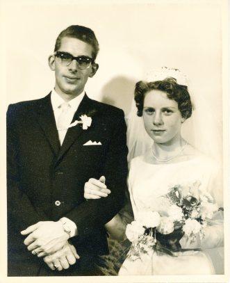 Albert and Anna Vreman's wedding