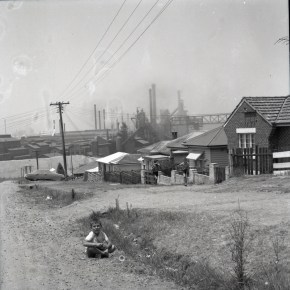 1964 - Workers' housing, Cringila - from the Illawarra Mercury Collection - P36088