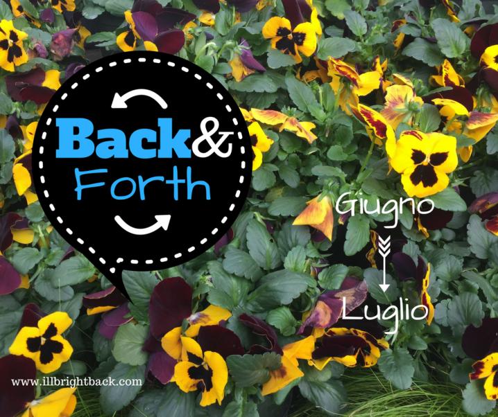 Back&Forth: Giugno —> Luglio