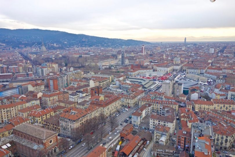 Vedere Torino dall'alto