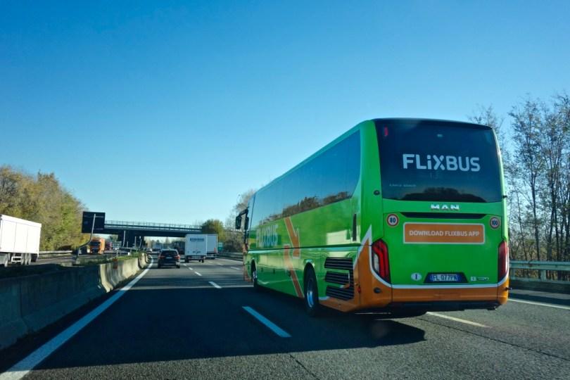 Viaggiare con Flixbus
