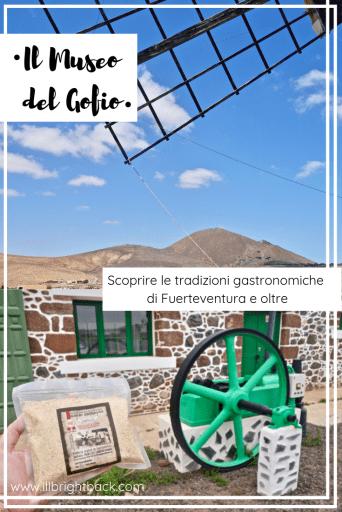 Museo del Gofio a Fuerteventura - Copertina Pinterest