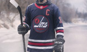 Image result for winnipeg jets heritage classic jersey