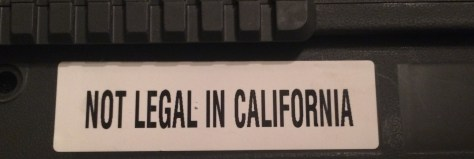 Not Legal In California