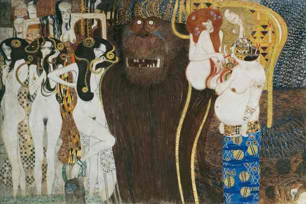 "The ""Beethoven Frieze"" (1902), by Gustav Klimt"