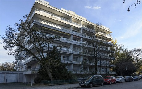 The apartment block in Munich where 1500 were discovered in 2011