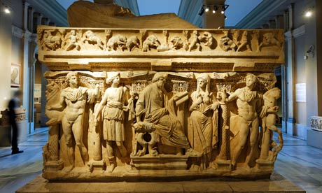 Reuniting the Sidamara Sarcophagus