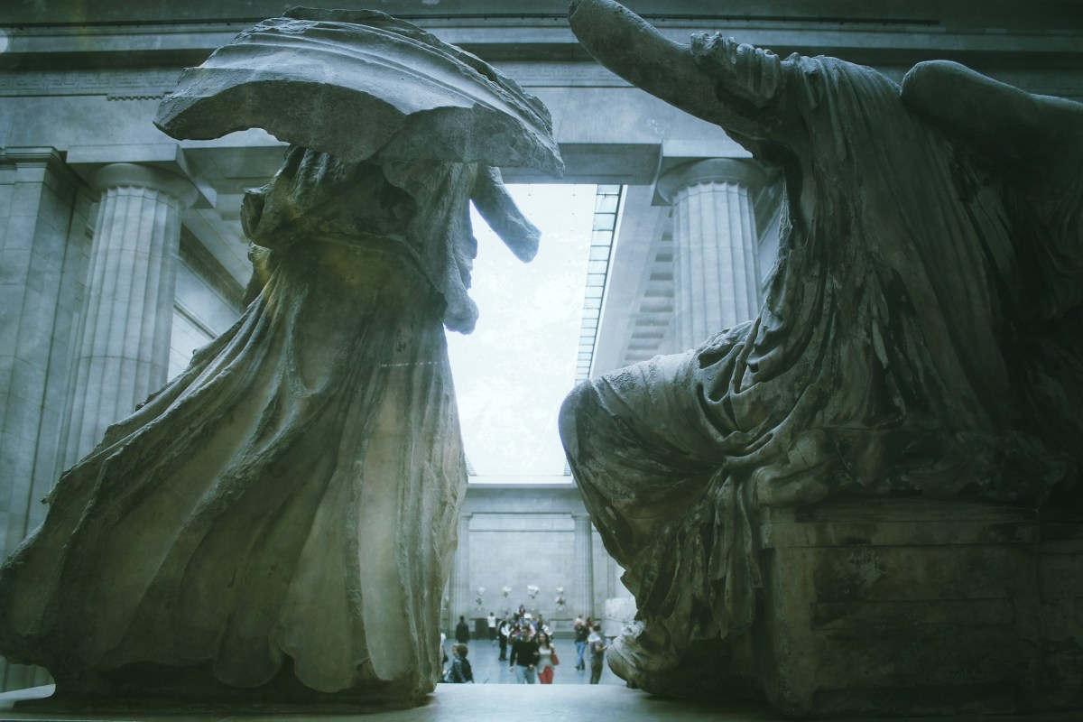 The British Museum is loaning a Parthenon sculpture