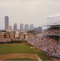Awesome in-focus photo of the night the lights went on, 8-8-88.