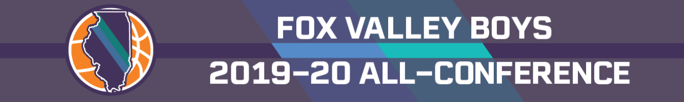 2019-20 Fox Valley boys basketball all-conference team