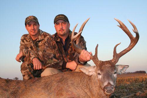 Hunting deer in Illinois