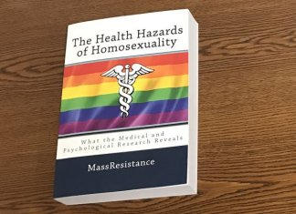 """Amazon Removes Book Outlining Medical and Psychological """"Health Hazards of Homosexuality"""""""