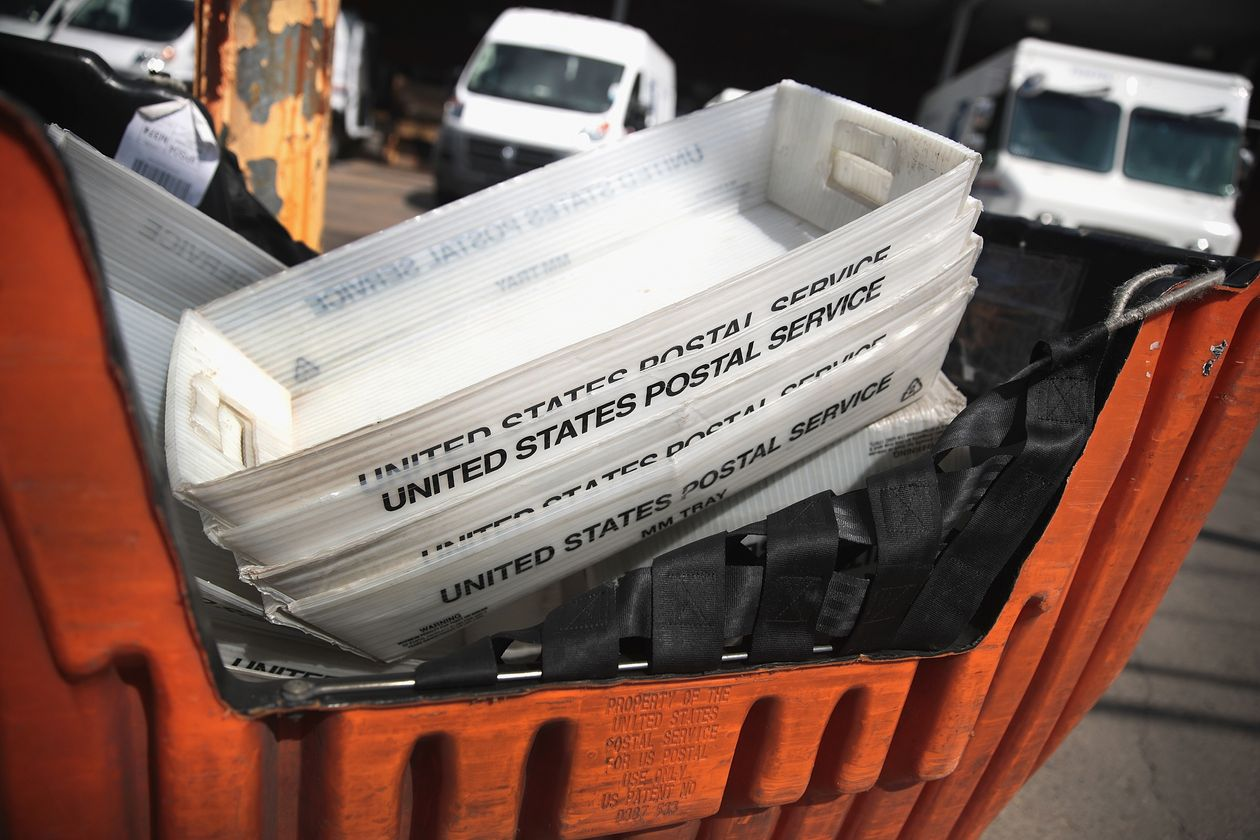 USPS boxes