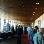 Networking was a huge component of the event.