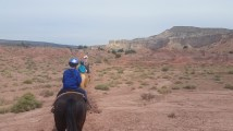 On the trail with the kids, in search of Georgia (Ghost Ranch)