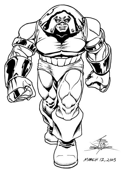 Illmosis Art: the Juggernaut