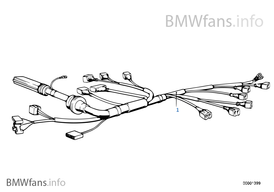 Bmw 525i Wiring Harness : 23 Wiring Diagram Images