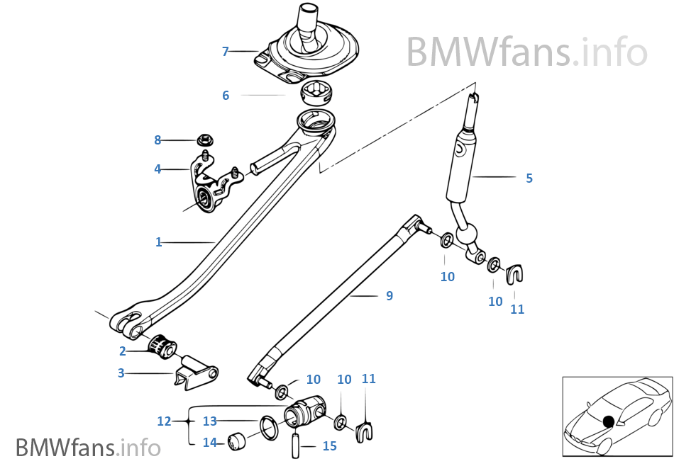 Bmw X5 E53 Parts Diagram