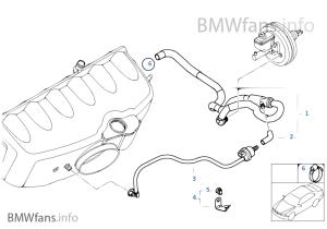 UnterdrucksteuerungMotor | BMW 3' E46 M3 S54 USA
