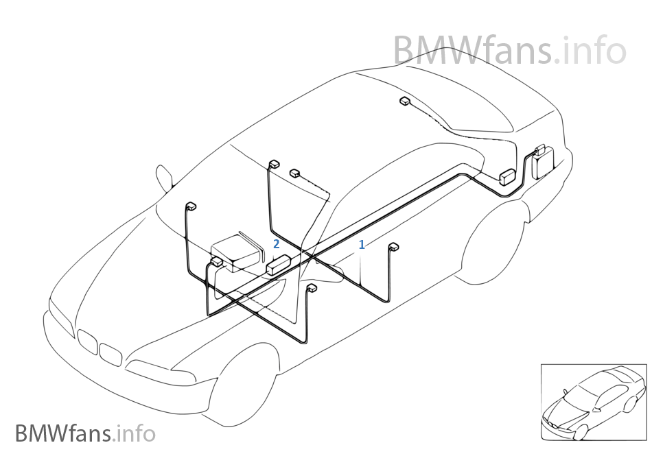 Bmw Genuine Brake Servo Vacuum Hose E36 39 E46 Z3