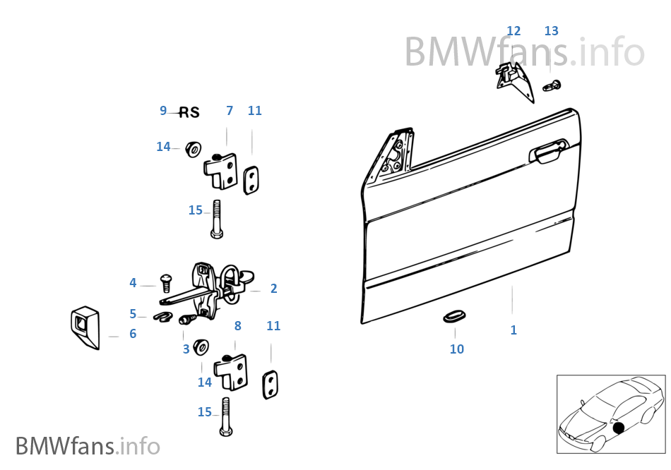 Service manual [Manually Open Blend Door On A 1996 Bmw 7