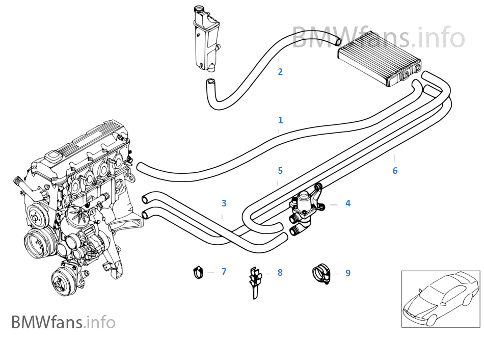 Bmw M43 Engine Diagram : Bmw M43 Wiring / Bmw m43b19