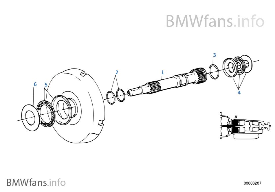 Bmw zf 4hp22