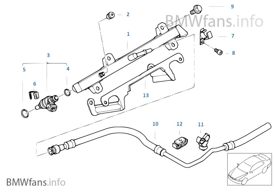 E46 Fuel System Diagram E46 Exhaust System • Sewacar.co