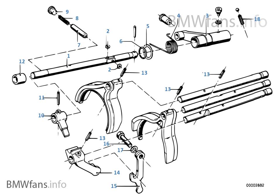 Bmw getrag 262 gearbox