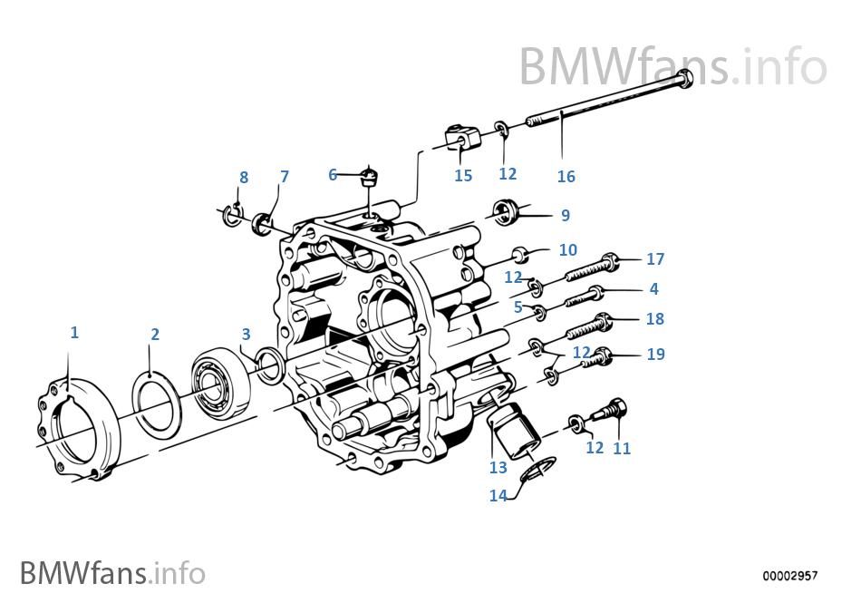Bmw getrag parts