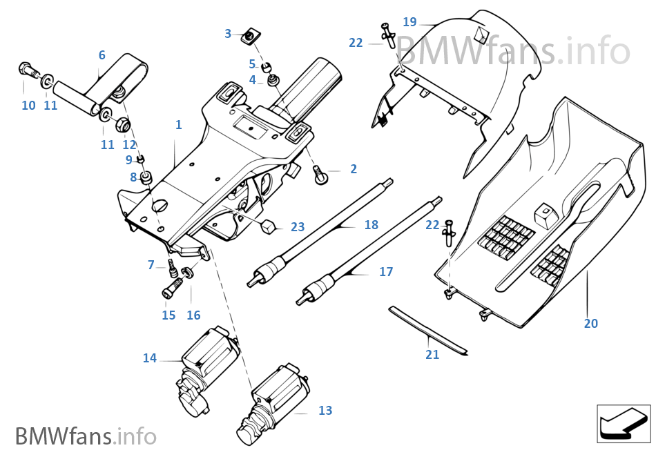 Drivers seat/ steering column fuse continuously blowing