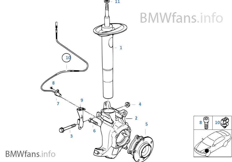 Different hub on M5 vs 540i? Brake conversion question