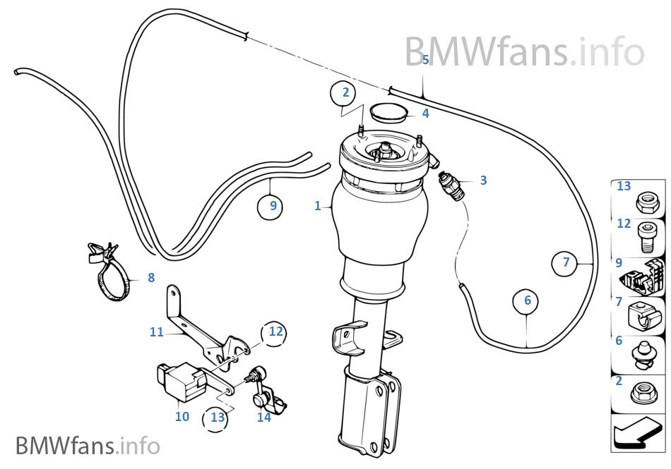 Bmw X5 Height Sensor BMW X5 Suspension Height Sensors