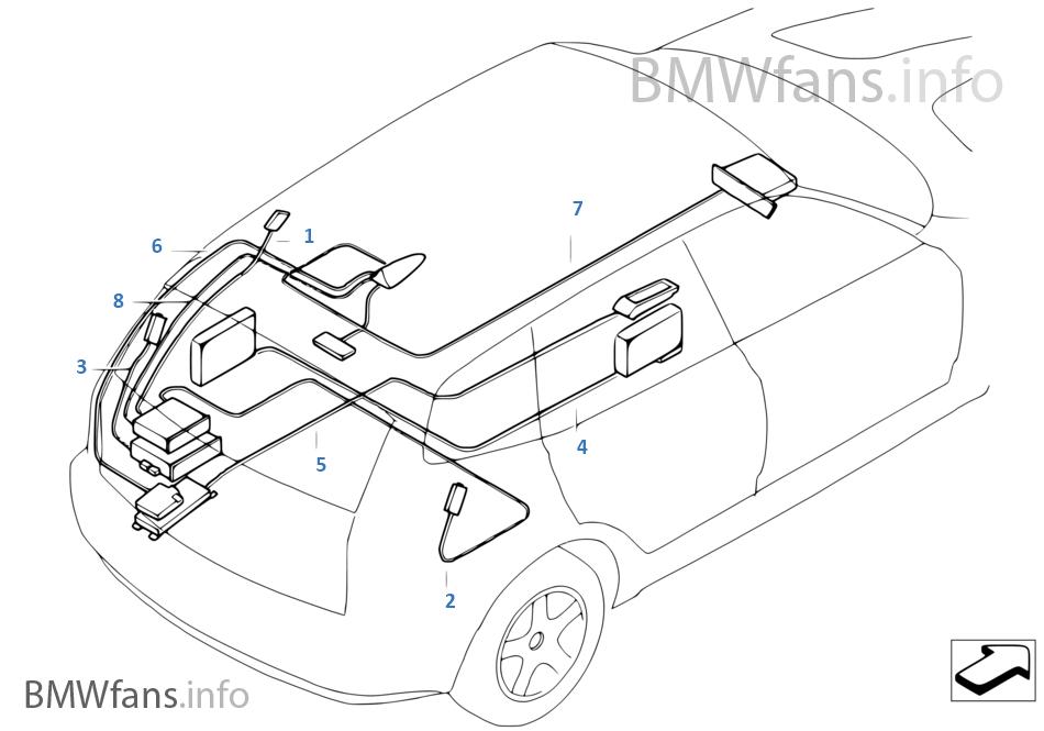 bmw x3 e83 radio wiring diagram