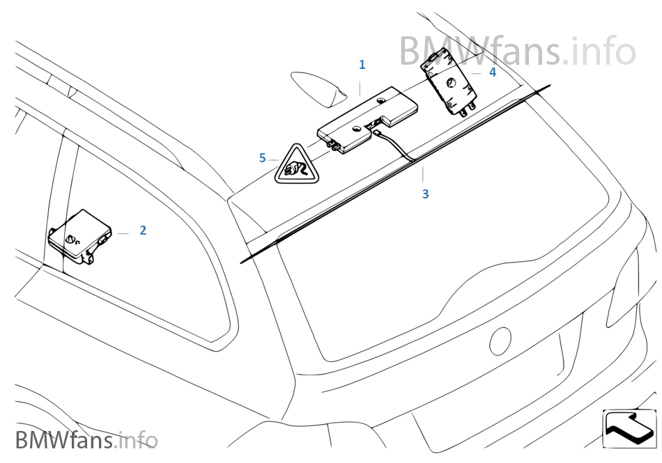 Schaltplan Bmw E91