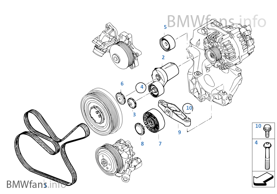 E90 Belt Diagram. bmw e90 serpentine belt replacement