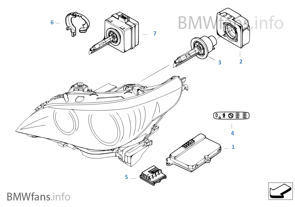 Wiring Diagram Headlights To 2003 Bmw 525i 2003 Chevy